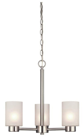 Westinghouse 6227500 Sylvestre Three-Light Indoor Chandelier