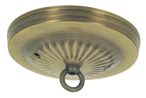 Westinghouse 7005300 Antique Brass Traditional Canopy Kit