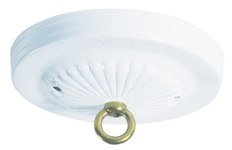 Westinghouse 7005600 White Traditional Canopy Kit