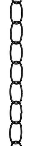 Westinghouse 7007200 3' Flat Black Finish Fixture Chain