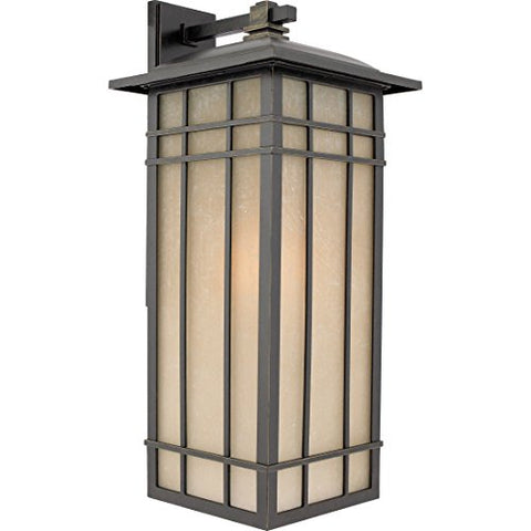 HCE8411IBFL 1 Light Wall Hillcrest Outdoor Lantern in Imperial Bronze