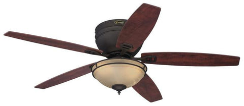 Westinghouse 7200200 Carolina 52-Inch Reversible Five-Blade Indoor Ceiling Fan