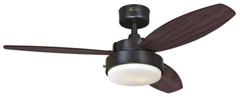 Westinghouse 7201900 Alloy 42-Inch Reversible Three-Blade Indoor Ceiling Fan