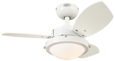 Westinghouse 7247200 Wengue 30-Inch Reversible Three-Blade Indoor Ceiling Fan