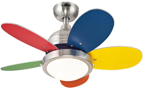 Westinghouse 7247500 Roundabout 30-Inch Reversible Five-Blade Indoor Ceiling Fan
