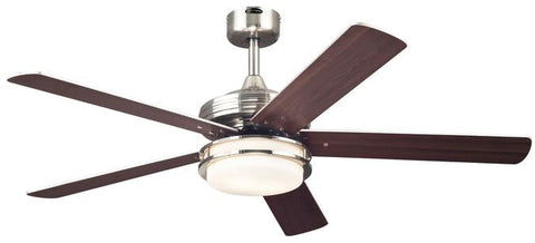 Westinghouse 7247700 Castle 52-Inch Reversible Five-Blade Indoor Ceiling Fan