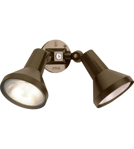 Adjustable Swivel 150 watt Dark Bronze Outdoor Flood Light