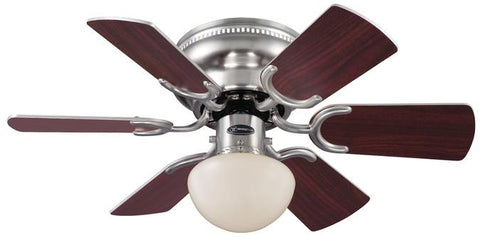 Westinghouse 7800500 Petite 30-Inch Reversible Six-Blade Indoor Ceiling Fan