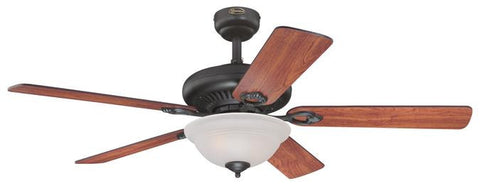 Fairview 52-Inch Reversible Five-Blade Indoor Ceiling Fan – Lighting ...