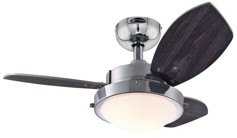 Westinghouse 7876300 Wengue 30-Inch Reversible Three-Blade Indoor Ceiling Fan