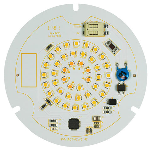 12.8 watt, R30 Circular LED Fixture Module, 2700K-2200K, 120 volt - Lighting Supply Group