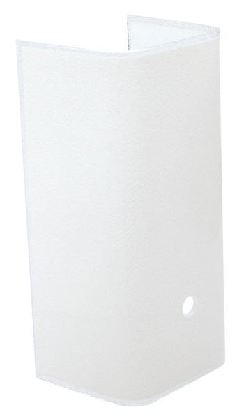 7 1 2 Inch White Channel Glass Lighting Supply Group