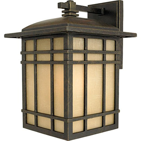 HC8509IBFL 1 Light Wall Hillcrest Outdoor Lantern in Imperial Bronze