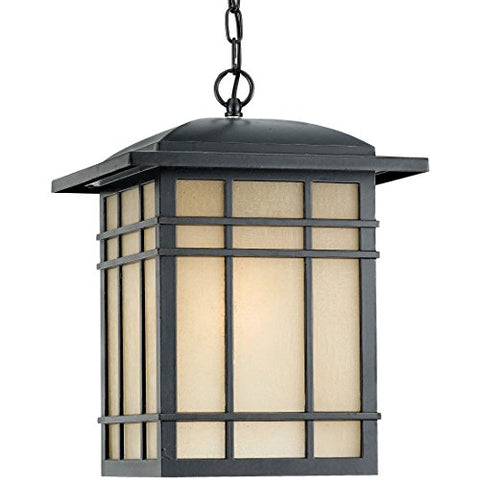 HC1913IBFL 1 Light Hanging Hillcrest Outdoor Lantern in Imperial Bronze