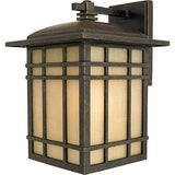 HC8409IBFL 1 Light Wall Hillcrest Outdoor Lantern in Imperial Bronze