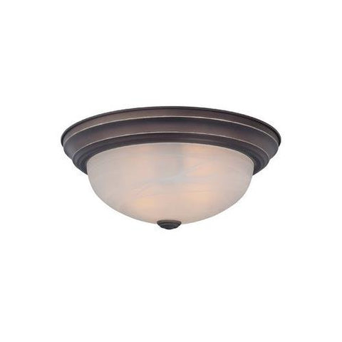 Manor 2 Light Flush Mount [Set of 6] Finish: Palladian Bronze