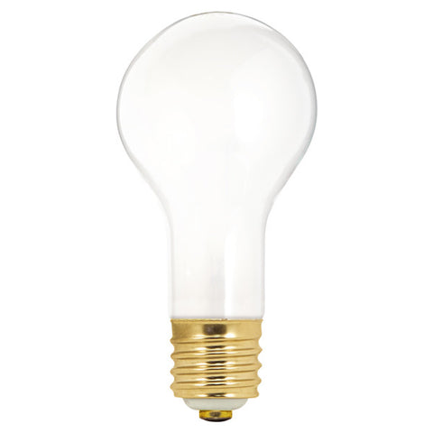 100/200/300 watt PS25 Incandescent, Frost, 2000 average rated hours, Mogul base, 120 volts - Lighting Supply Group