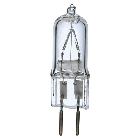100 watt, Halogen, T4, Clear, 2000 Average rated Hours, 1700 Lumens, Bi Pin GY6.35 base, 120 volts - Lighting Supply Group