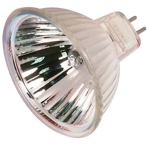 35 watt, Halogen, MR16, FRB, 4000 Average rated Hours, Miniature 2 Pin Round base, 12 volts