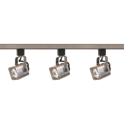 Nuvo TK347 - 3-Lights MR16 Square Track Lighting Kit Line Voltage
