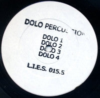 "Dolo Percussion - s/t - 12"" - LIES015.5"