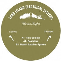 "Florian Kupfer - This Society - 12"" - LIES045"