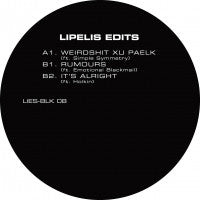 "Lipelis - Lipelis Edits - 12"" - LIES BLK08 (LIMIT 1 PER CUSTOMER)"