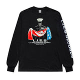 L.I.E.S. Records - Aborted Mission L/S t-shirt - Black