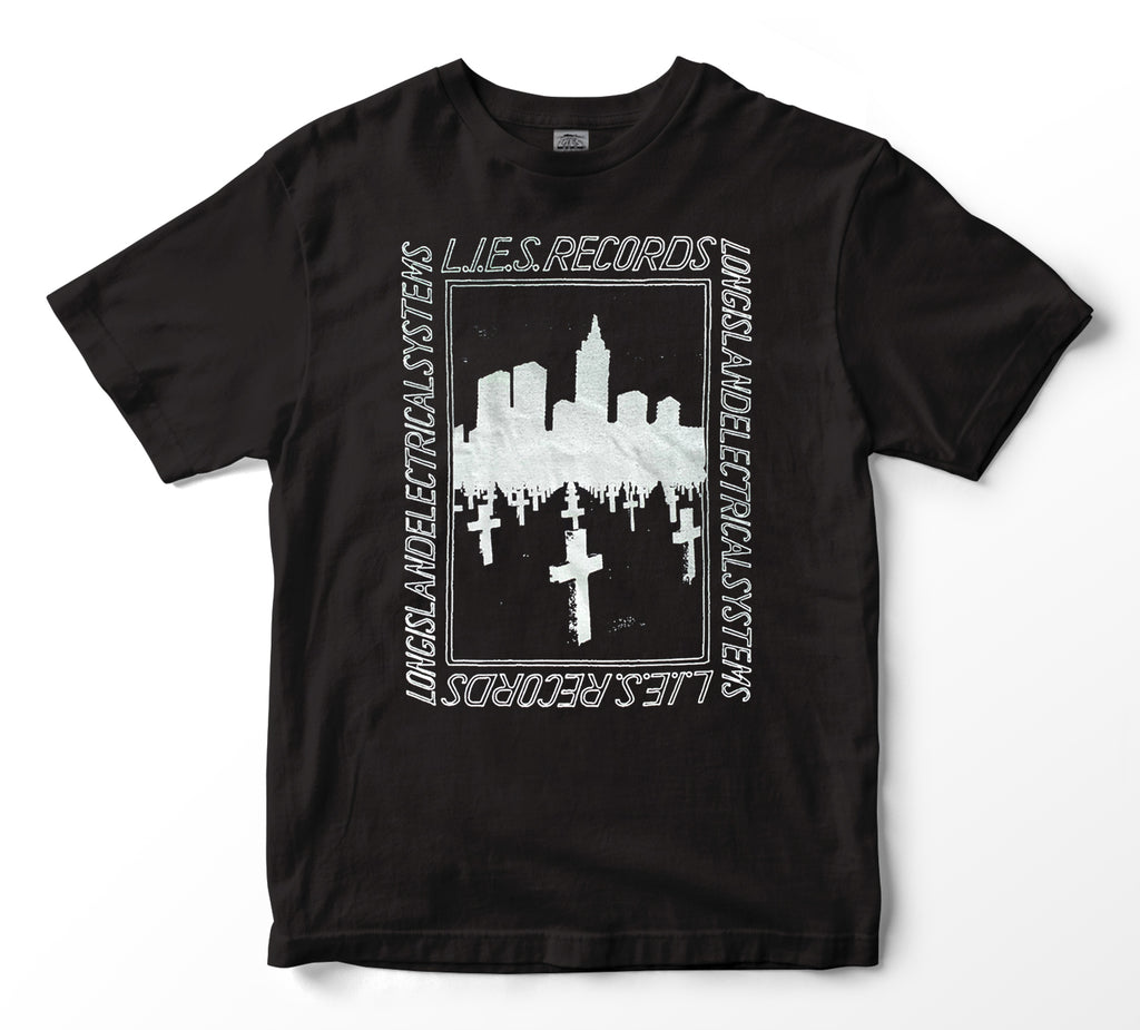 L.I.E.S. Records - BQE Graves S/S t-shirt - Black