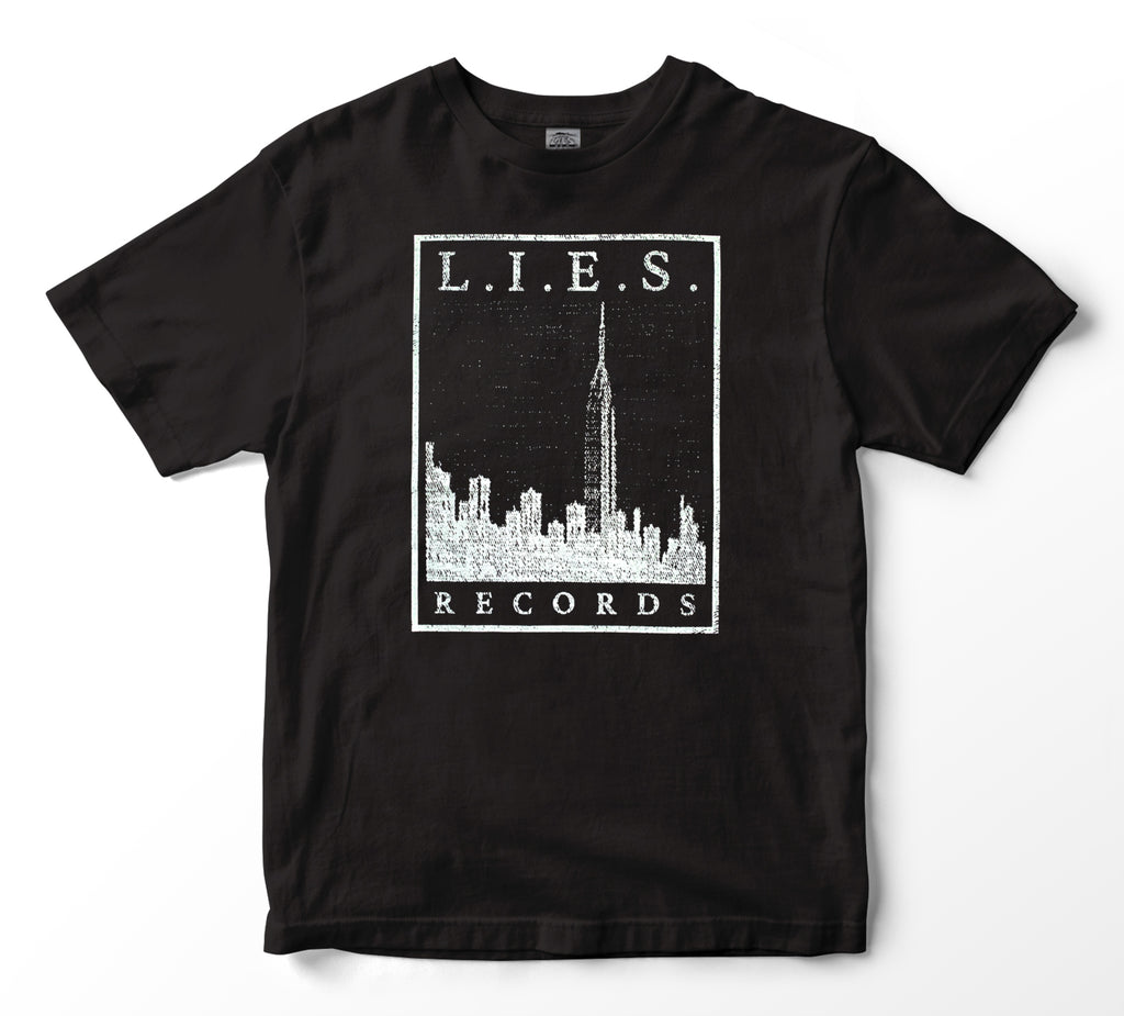 L.I.E.S. Records - City Scapes t-shirt - Black