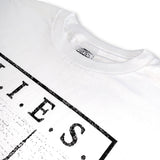 L.I.E.S. Records - City Scapes t-shirt - White
