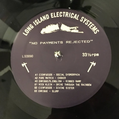 "Various Artists - No Payments Rejected - 12"" - LIES090"
