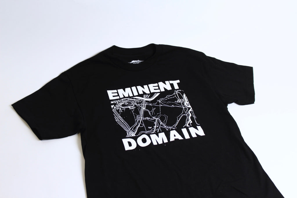 L.I.E.S. Records - Eminent Domain Tee - Black