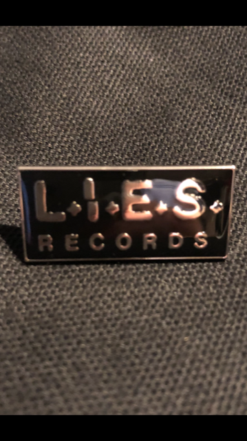 L.I.E.S. Records - Enamel pin
