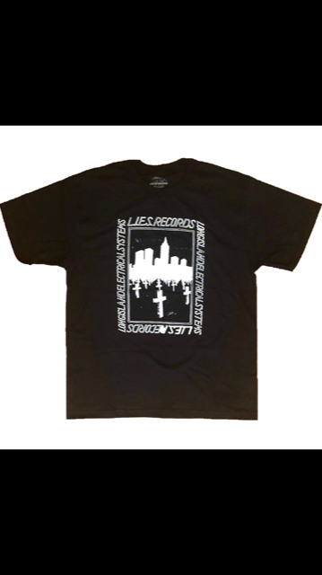 L.I.E.S. Records - Urban Grave Tee - Black
