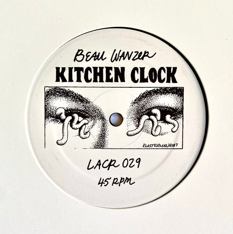 "Beau Wanzer - Kitchen Clock - 12"" - LACR-029"