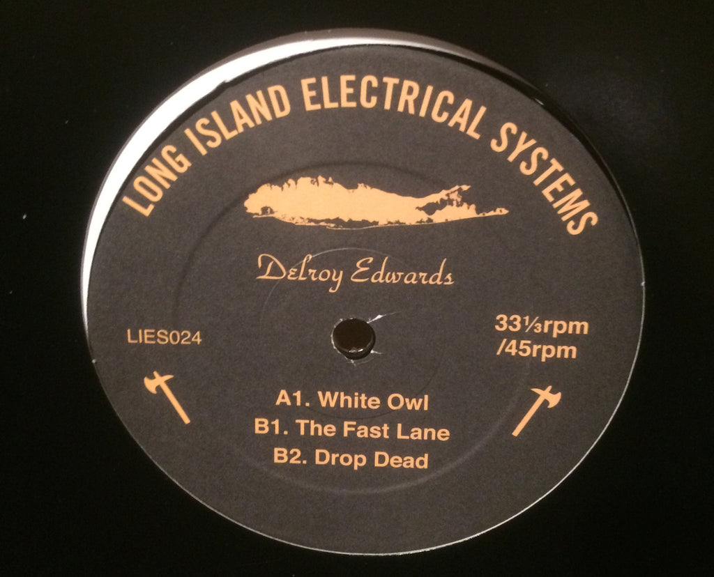 "Delroy Edwards - White Owl - 12"" - LIES024"