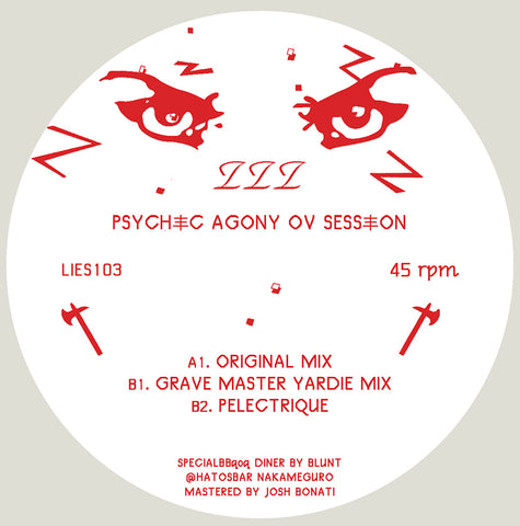 "ZZZ - psychic agony ov session - 12"" - LIES-103"