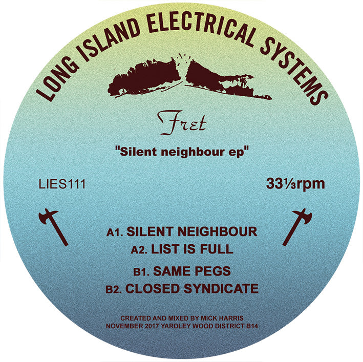 "FRET - Silent Neighbour - 12"" - LIES-111"