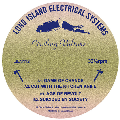 "Circling Vultures - s/t - 12"" - LIES-112"