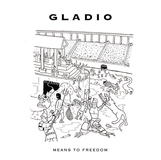 Gladio - Means to Freedom - LP - LIES-142