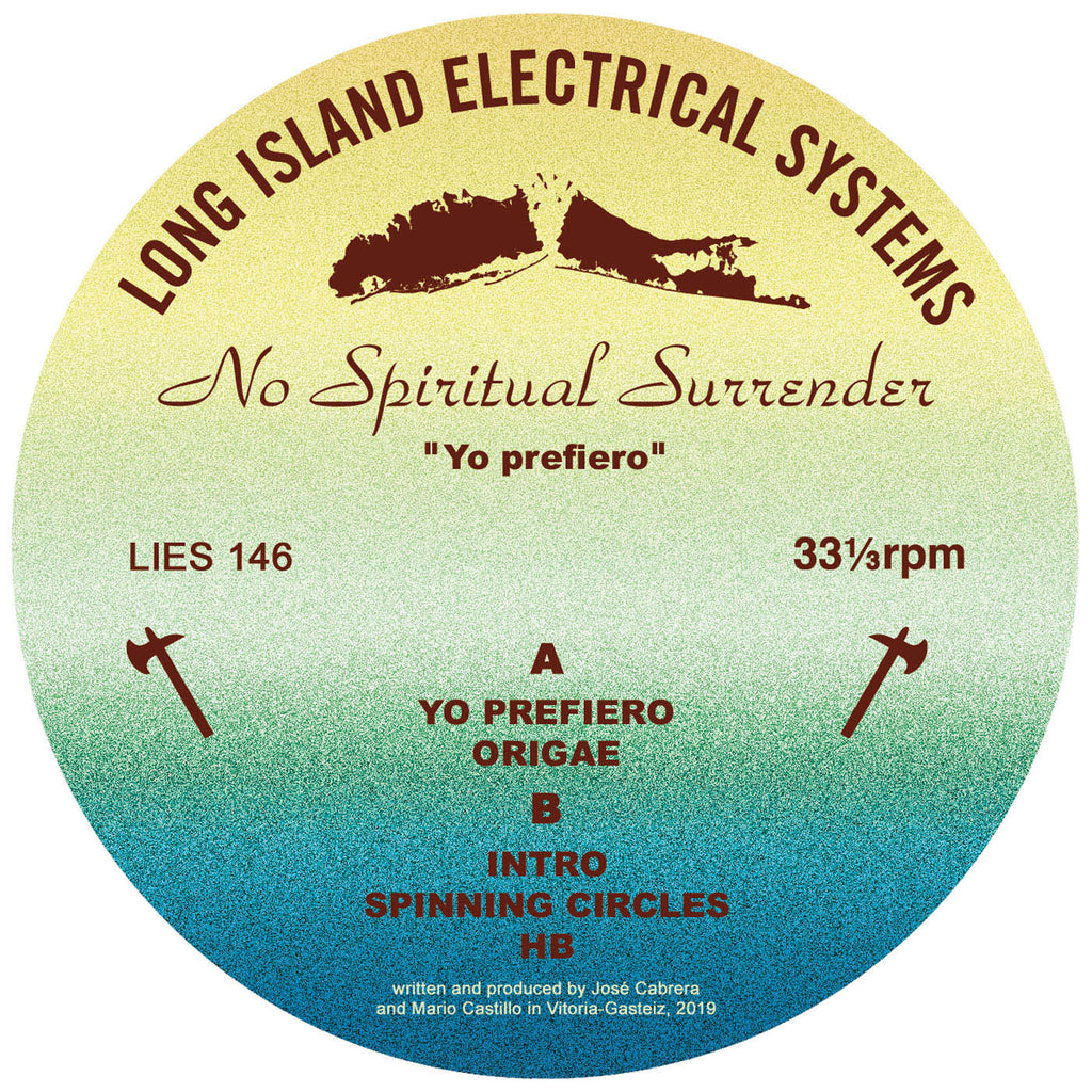 "No Spiritual Surrender- Yo Prefiero. - 12"" - LIES-146"