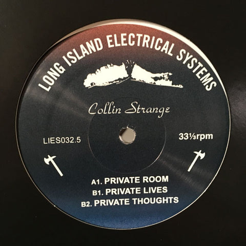 "Collin Strange - Private Room - 12"" - LIES032.5"