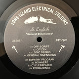 "S. English - General Dimensions - 12"" - LIES087"