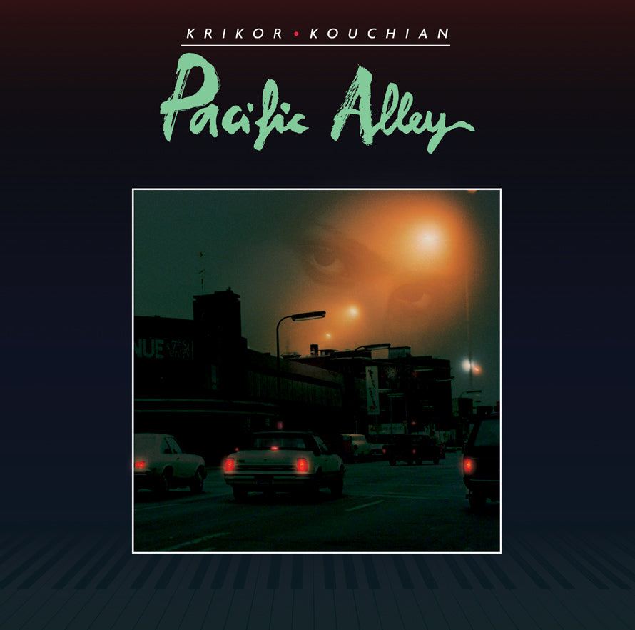 "Krikor Kouchian - Pacific Alley LP - 12"" - LIES098"
