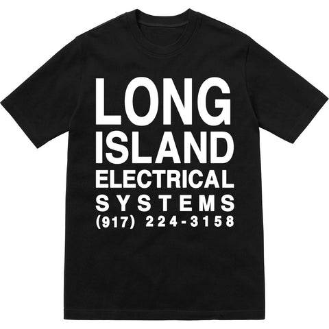 L.I.E.S. Records - L.I.E.S. Club Tee - Black