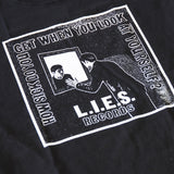 L.I.E.S. Records - How Sick Do You Get? S/S t-shirt - Black
