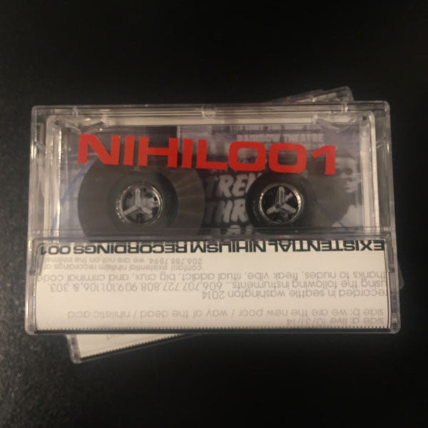 Collin Strange - Live on 10/31/14 - Cassette - NIHIL001