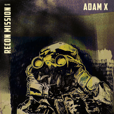 Adam X - Recon Mission- 2xLP - SGLP05