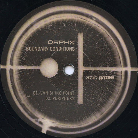 "Orphx ‎– Boundary Conditions (REPRESS) - 12"" - SG1359"